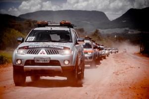 Expedição Mitsubishi terá 3.000 km do Chile até Foz do Iguaçu - Crédito: Green Pixel / Mitsubishi