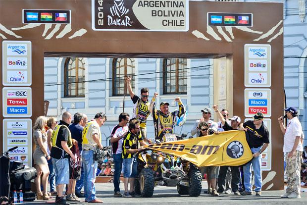 Rally Dakar – Equipe Can-Am amplia hegemonia entre os quadriciclos 4×4