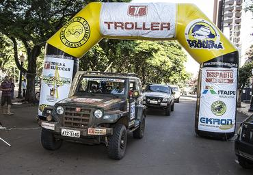 Transparaná Troller 2014 passa por Ivaiporã