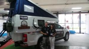Casal viaja de caminhonete de São Paulo até o Alasca