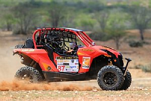 Lucas Barroso a bordo do Can-Am Maverick