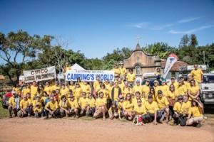 A família Camping's World na cidade de Tiradentes-MG
