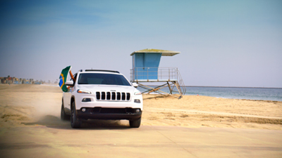 Nova campanha de marketing  Jeep