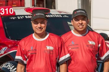 Facco e Ribeiro ocupam o terceiro lugar na Pro Brasil, no Brasileiro - Foto: Doni Castilho/Dfotos