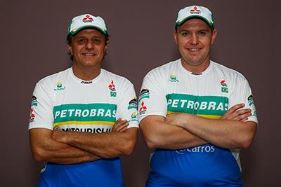 João Franciosi e Rafael Capoani - Foto: Divulgação / Mitsubishi
