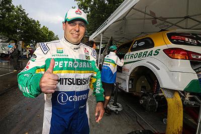Guiga Spinelli é o maior vencedor do Rally dos Sertões, com 4 títulos - Foto: Jorge Cunha/Mitsubishi