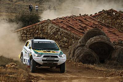 ASX Racing será o carro da dupla Guiga Spinelli e Youssef Haddad - Foto: Jorge Cunha/Mitsubishi