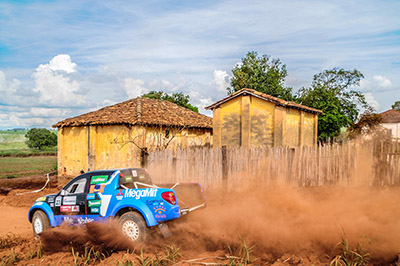Dupla tem duas vitórias um terceiro lugar  - Foto: Márcio Machado/AUTOTERRA