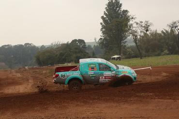 Dupla venceu a quarta etapa na L200 Triton ER - Foto: Sanderson Pereira/Photo-S