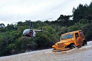 O 6º Rally Transcatarina terminou neste sábado, em Jaraguá do Sul, SC  - Foto: Júnior Almeida
