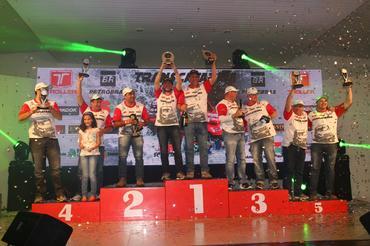 Os vencedores na Super Máster: Flávio Roberto Kath e Rafain Walendowsky - Foto: Michel Rezende