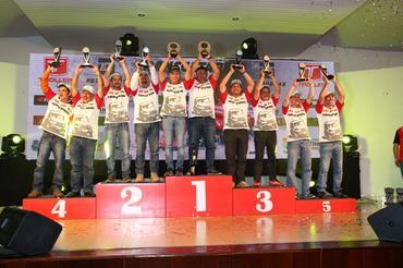 Os vencedores na Graduados: Marcos Juliano Alves Bezerra e Willian Santos - Foto: Michel Rezende