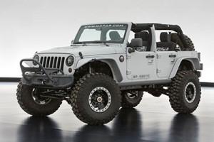 O Jeep Wrangler Mopar Recon conta com vários itens externos da Mopar