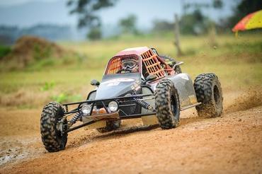 Alain Dubois com o protótipo SAT Racing 001 Foto:  Gustavo Epifânio/FotoArena
