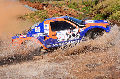 A dupla de carro Jorley Jr/Maykel Justo - Foto:  DFotos