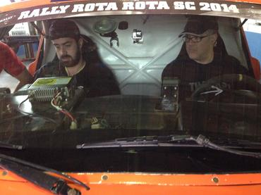 Rodrigo e Bianchini durante o treino no início do mês - Foto: Divulgação
