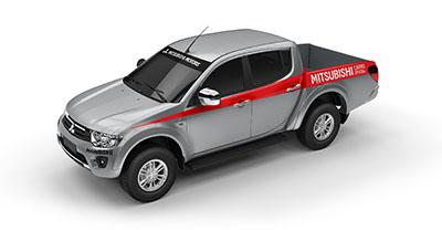L200 Triton é o carro oficial do Rally dos Sertões