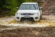 Veículos enfrentam as mais severas condições - Foto: Murilo Mattos / Mitsubishi
