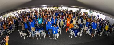 Mais de 500 aventureiros prestigiaram o evento off-road na serra carioca - Foto: Murilo Mattos/ Green Pixel