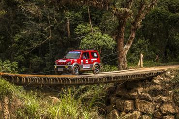 Aventura 4x4, diversão e muita lama marcaram a quarta etapa do Suzuki Adventure  - Foto: Murilo Mattos/ Green Pixel