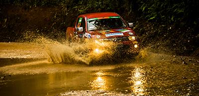 Trechos off-road com total segurança - Foto: Ricardo Leizer / Mitsubishi