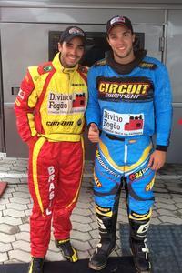 Rodrigo (E) e Gabriel (D) Varela já estão prontos - Foto: Foto: Divino Fogão Rally Team