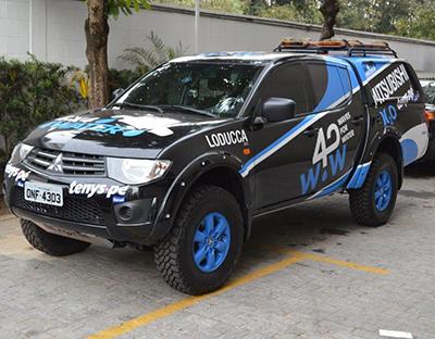 4x4 for Water estará no Rally dos Sertões