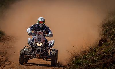 Robert Nahas, campeão em 2010 nos quads, ficou em segundo  - Foto: Jonne Roriz / Webventure