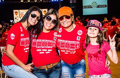 Rali reúne famílias e amigos - Foto: Adriano Carrapato / Mitsubishi