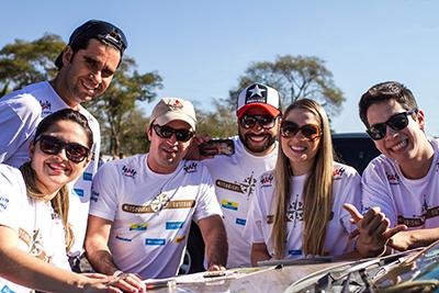 Equipes com famílias e amigos participam do Mitsubishi Outdoor - Foto: Gabriel Barbosa / Mitsubishi