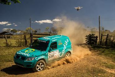 Dupla fechou a segunda etapa, com o segundo melhor tempo na categoria - Foto: Marcelo Machado/Webventure