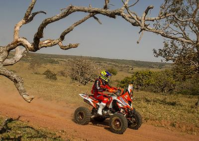 Marcelo Medeiros é o novo líder nos quads  - Foto: Marcelo Machado / Webventure