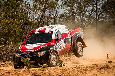 Facco e Piauí venceram a segunda seguida na Pró Brasil  - Foto:  Marcelo Machado / Webventure