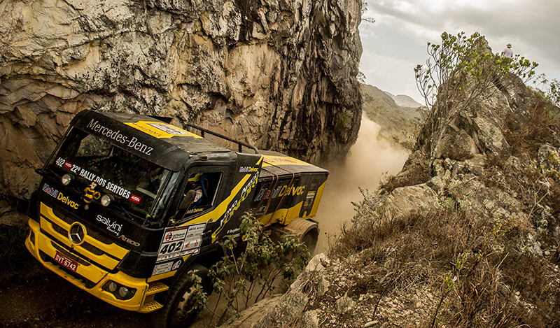 Salvini Racing passou apertado pelo trecho de hoje - Foto: Marcelo Machado/Webventure