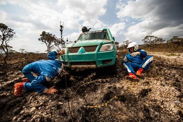 Guerreira, a dupla superou os desafios das últimas etapas - Foto: Ricardo Leizer/Webventure
