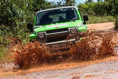 A prova na região de Salvador foi marcada por chuvas e muita adrenalina - Foto: Doni Castilho