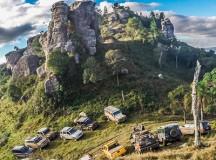 A região turística do Vale do Itararé e do Jaguaricatú