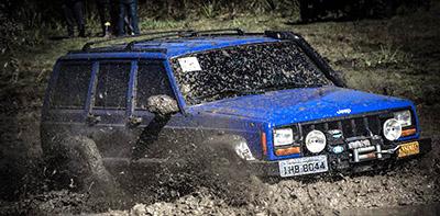 Muita adrenalina marcou com sucesso o evento do Jeep Clube Dom Feliciano - Photo Trilha