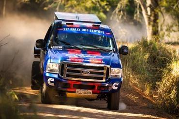 Prólogo: Trio foi o mais rápido entre os Caminhões neste sábado - Foto: Marcelo Machado/Webventure