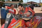Gabriel Varela em seu Can-Am Renegade 1000 - Foto: Ney Evangelista/DFotos