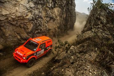 Jimny estreia no Rally dos Sertões 2014  - Foto: Marcelo Machado