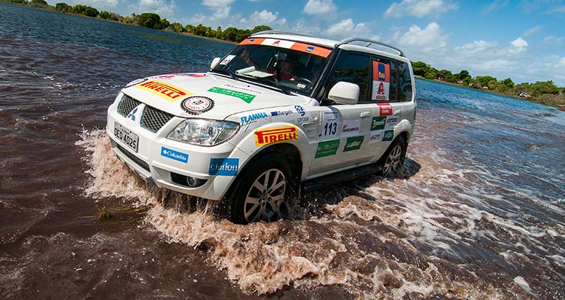 Podem participar veículos Mitsubishi das linhas Pajero e L200, versões 4x4 - Foto: Cadu Rolim/Mitsubishi