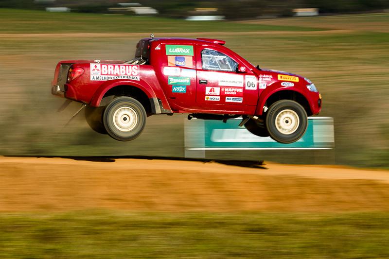 Na L200 Triton RS, Rafael Cassol e Lelio Viana foram os vencedores - Foto: Tom Papp/ Mitsubishi
