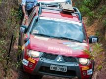 Na trilha, equipe enfrentaram prova off-road pesada - Foto: Cadu Rolim / Mitsubishi