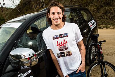 O ator Rômulo Neto também participou da prova - Foto: Tom Papp / Mitsubishi