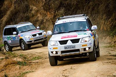 Na categoria Extreme, podem participar carros das linhas Pajero e L200 4x4 - Foto: Tom Papp / Mitsubishi