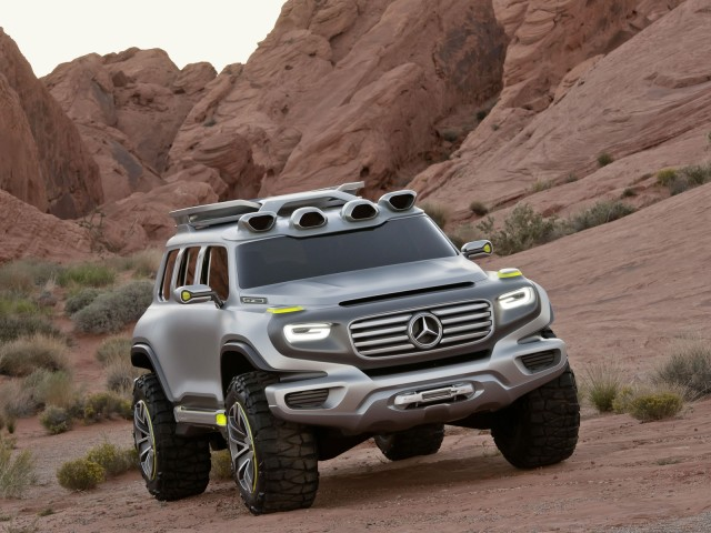 2025 Mercedes-Benz Ener-G-Force Concept.