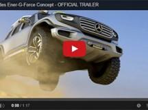 Mercedes Ener-G-Force Concept – OFFICIAL TRAILER