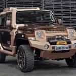 Troller apresenta versões especiais do novo T4 no Salão  do Automóvel