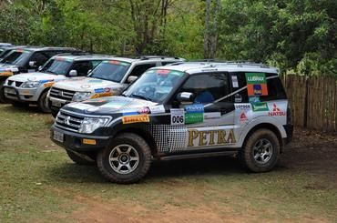 Novo Pajero Full da equipe que recebeu as cores da Cerveja Petra e Natsu - Foto: Angelo Savastano/SavaPhoto